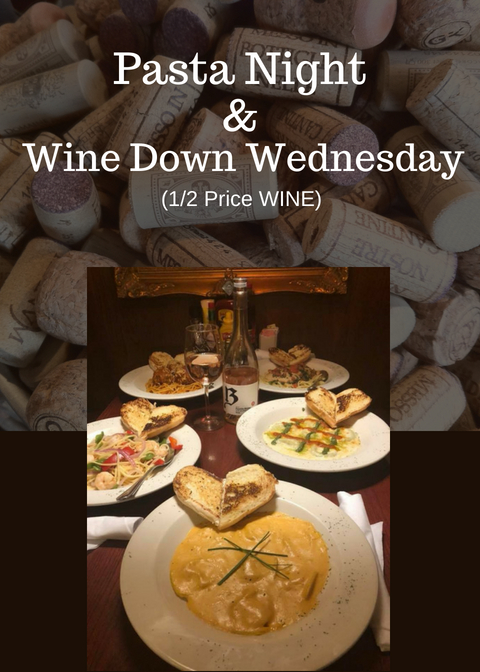 Pasta Night & Wine Down Wednesday