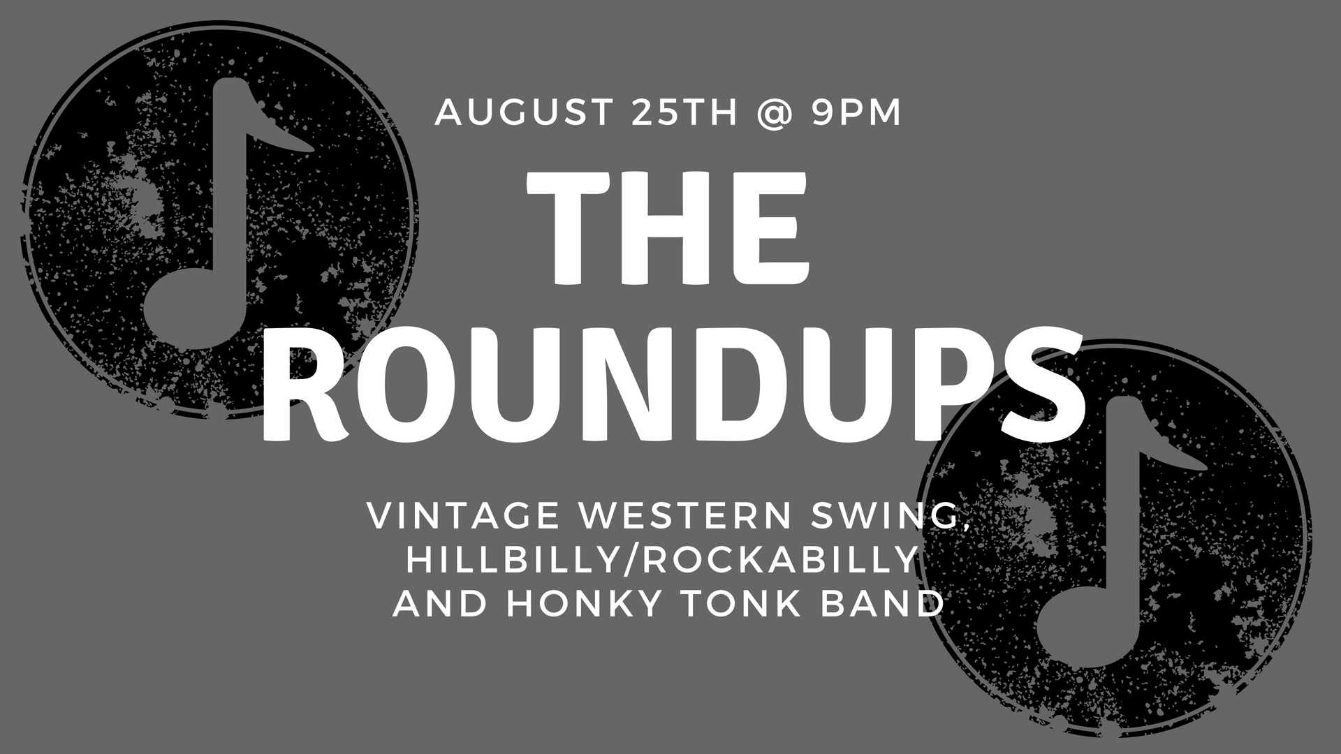Live Music - The Roundups